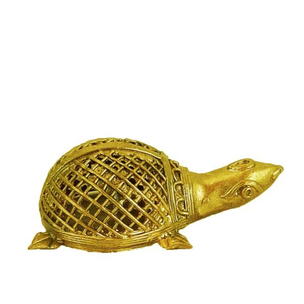 Beautiful Handcrafted Dokra Turtle For Home Décor